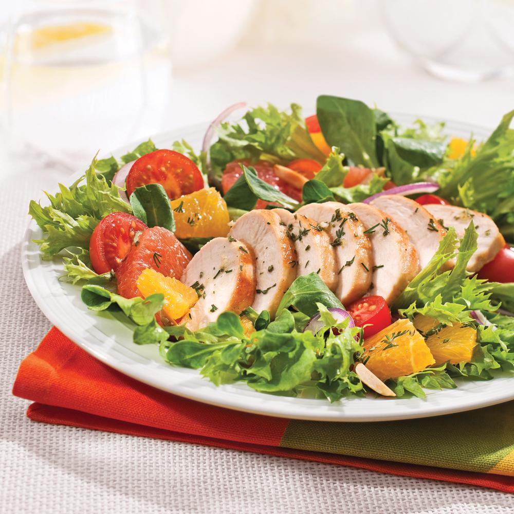Salade de poulet à la californienne