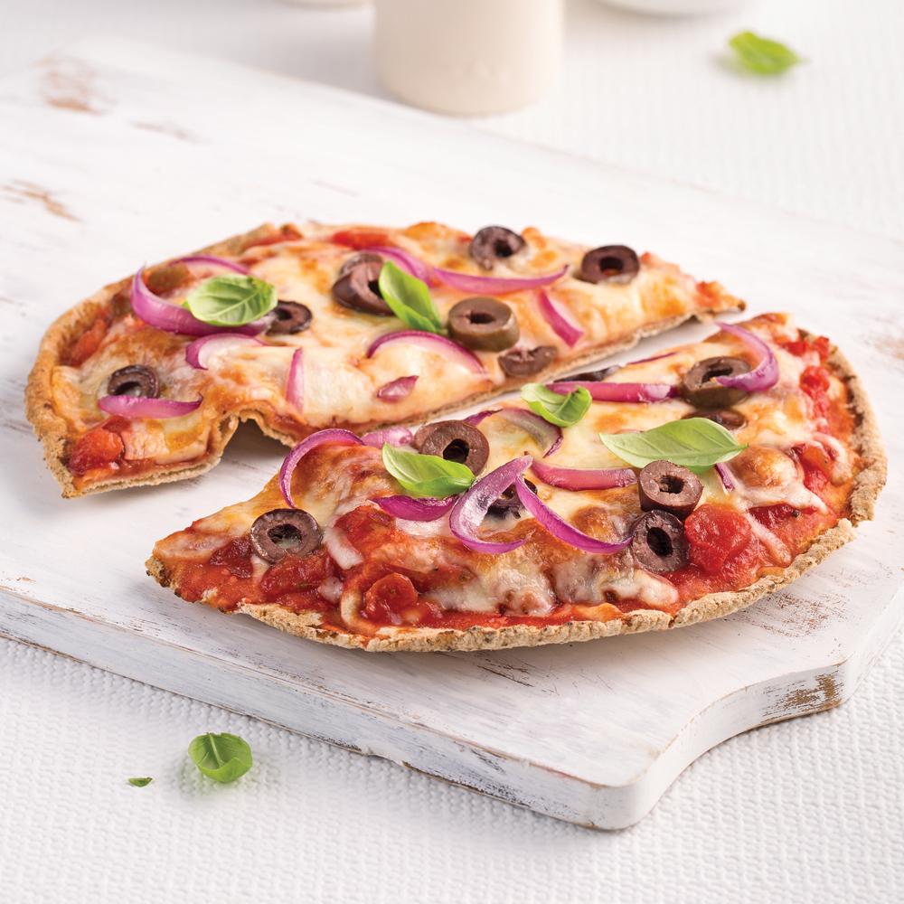 Pizza végétarienne - Les recettes de Caty