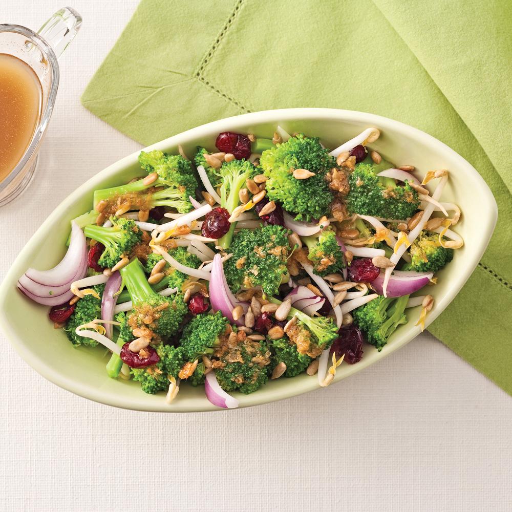 Salade de brocolis à la chinoise