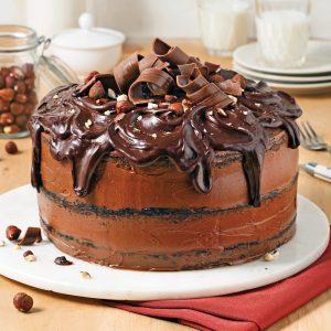 Gâteau au chocolat et Nutella