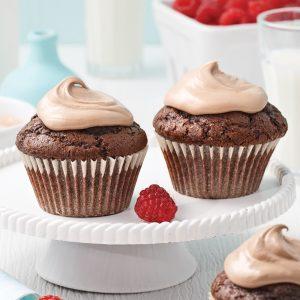 Cupcakes délicieusement chocolatés