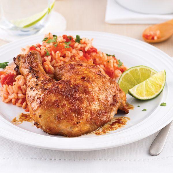 Cuisses de poulet à la citronnelle