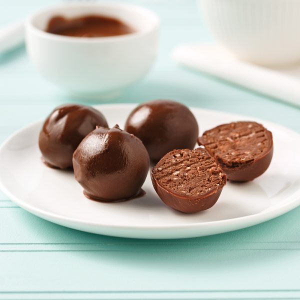 Boules protéinées aux haricots et cacao