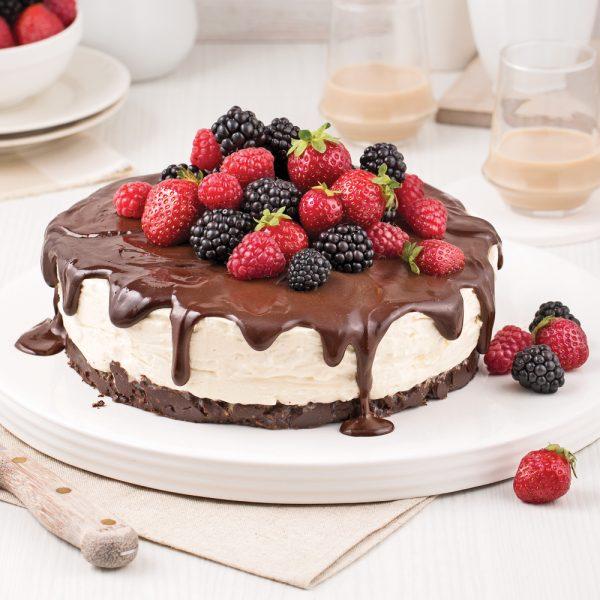 Gâteau-mousse Bailey's et chocolat noir