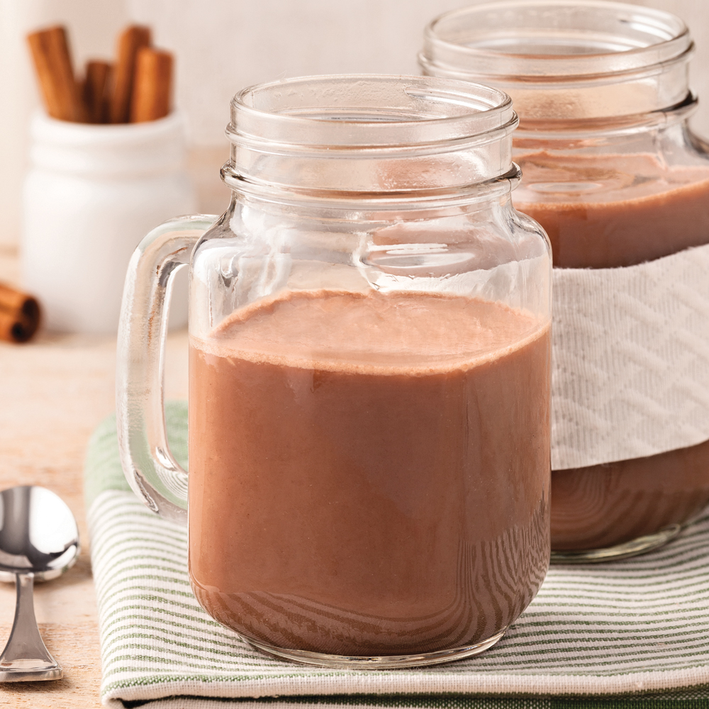Smoothie chaud chaï-coco