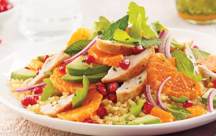 8 salades tièdes à déguster toute l'année