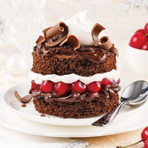 Gâteau Forêt-Noire gourmand