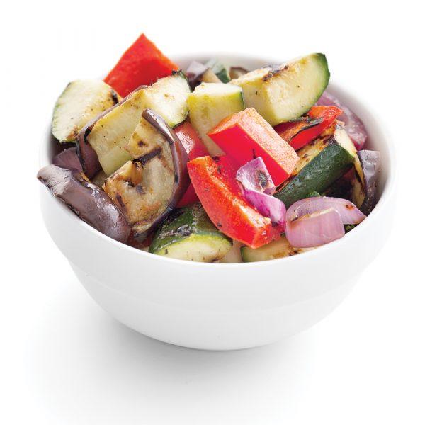 Ratatouille de légumes rôtis