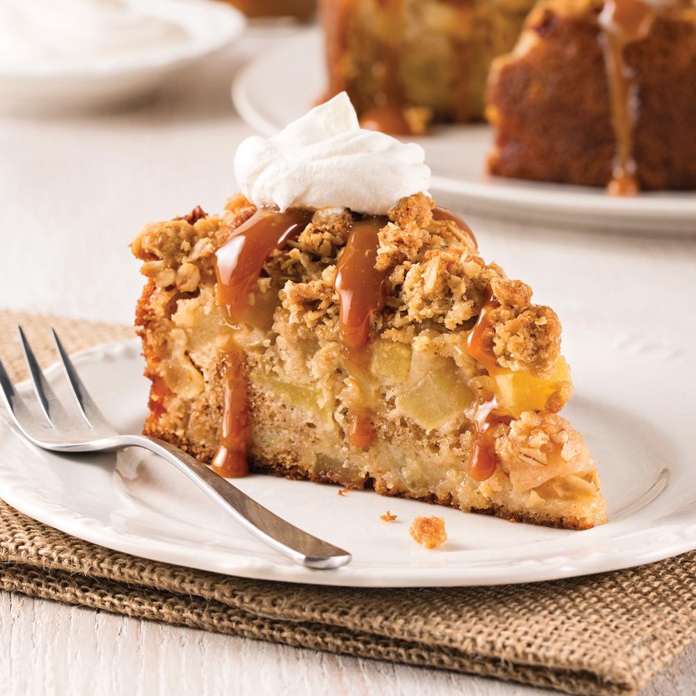 Gâteau-croustade aux pommes