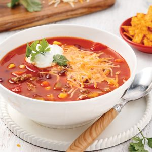 Soupe taco