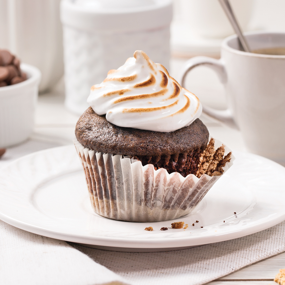 Cupcakes s'mores