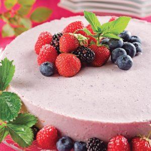 Gâteau aux fruits des champs