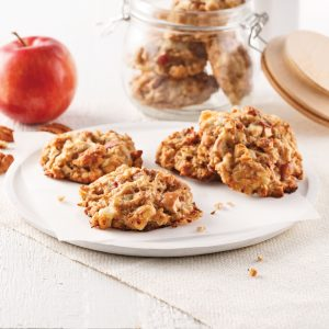 Galettes pommes-cheddar