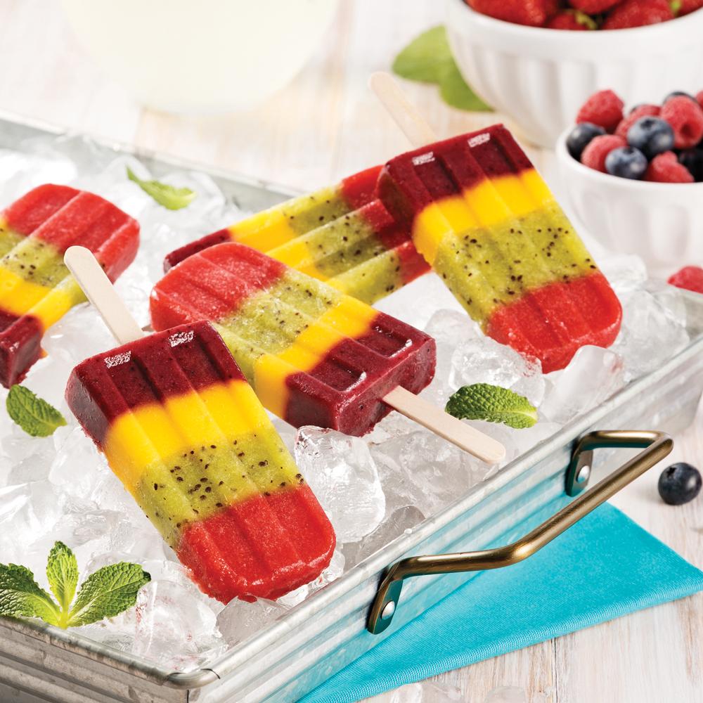 Popsicles santé aux fruits