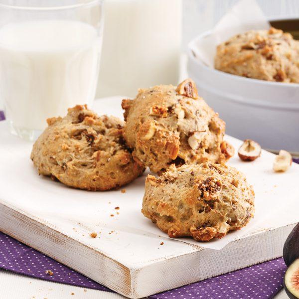 Biscuits moelleux aux figues et yogourt