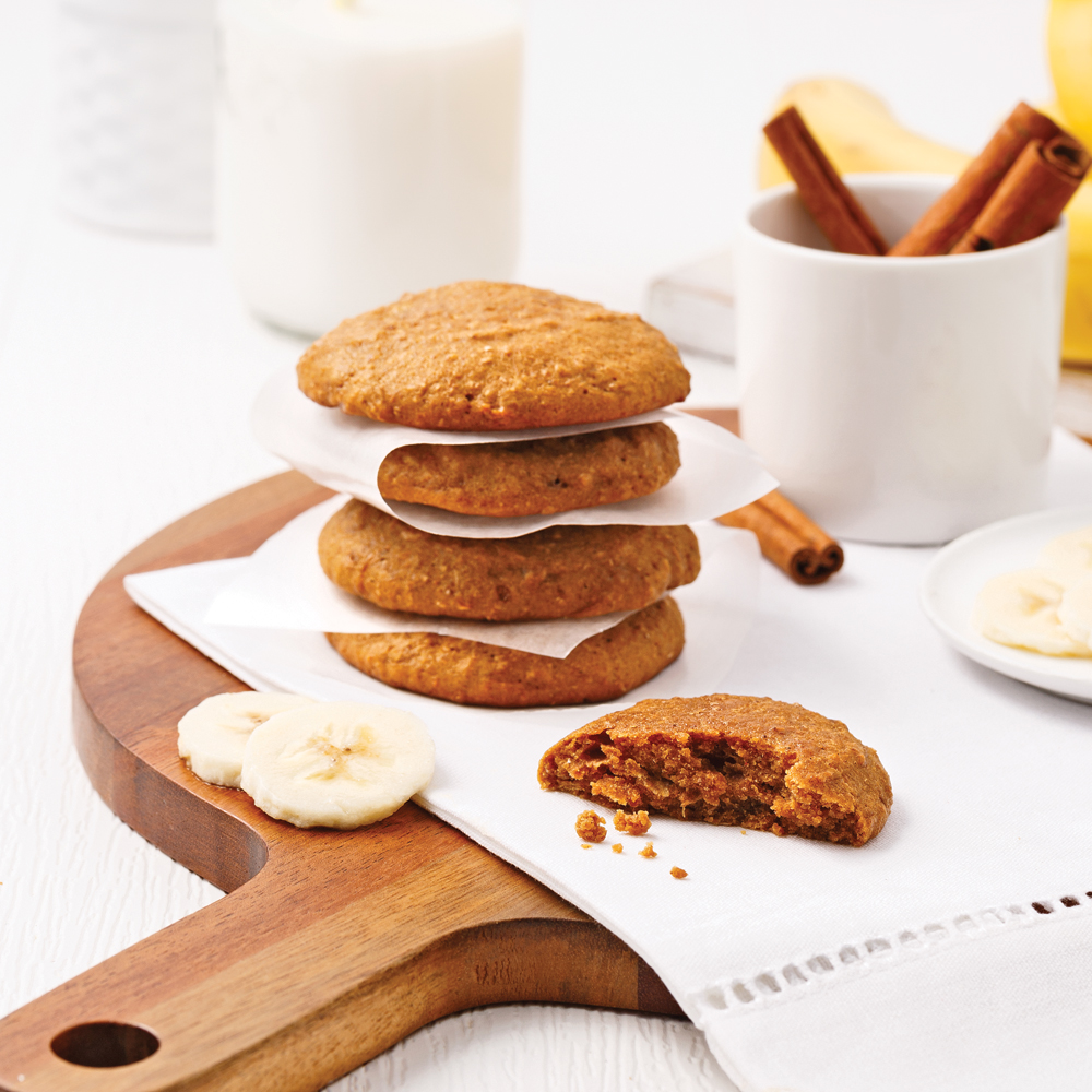 Biscuits aux bananes