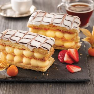Mille-feuille butterscotch