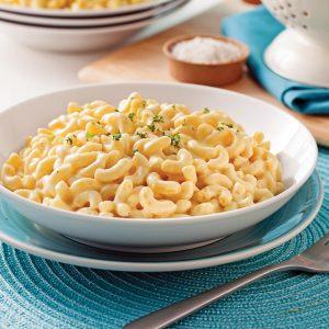 Macaroni «au fromage» végétalien