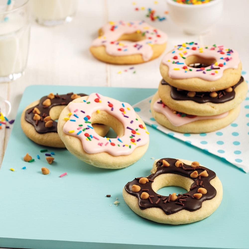 Biscuits-beignes sablés