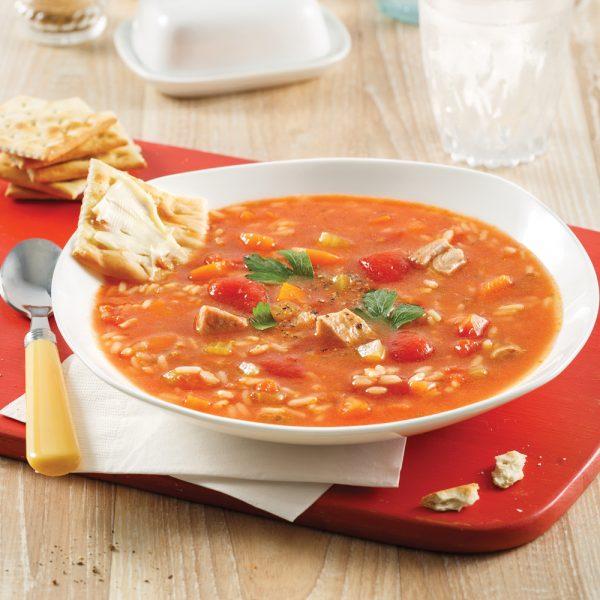 Soupe «grand-mère» dinde et riz