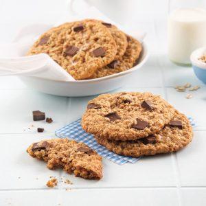 Biscuits aux pépites de chocolat faibles en calories