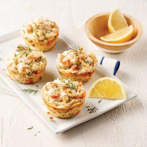 Mini-pâtés au saumon