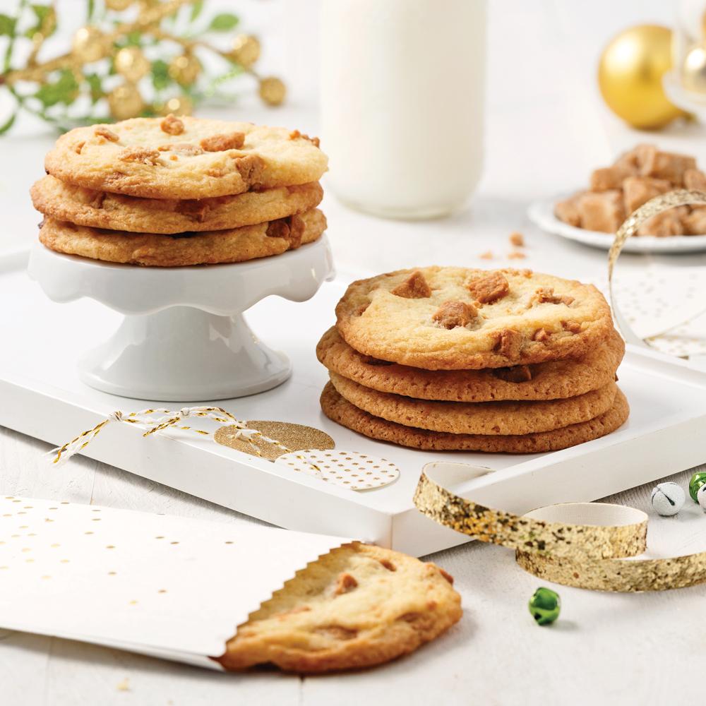 Biscuits au sucre à la crème croquant