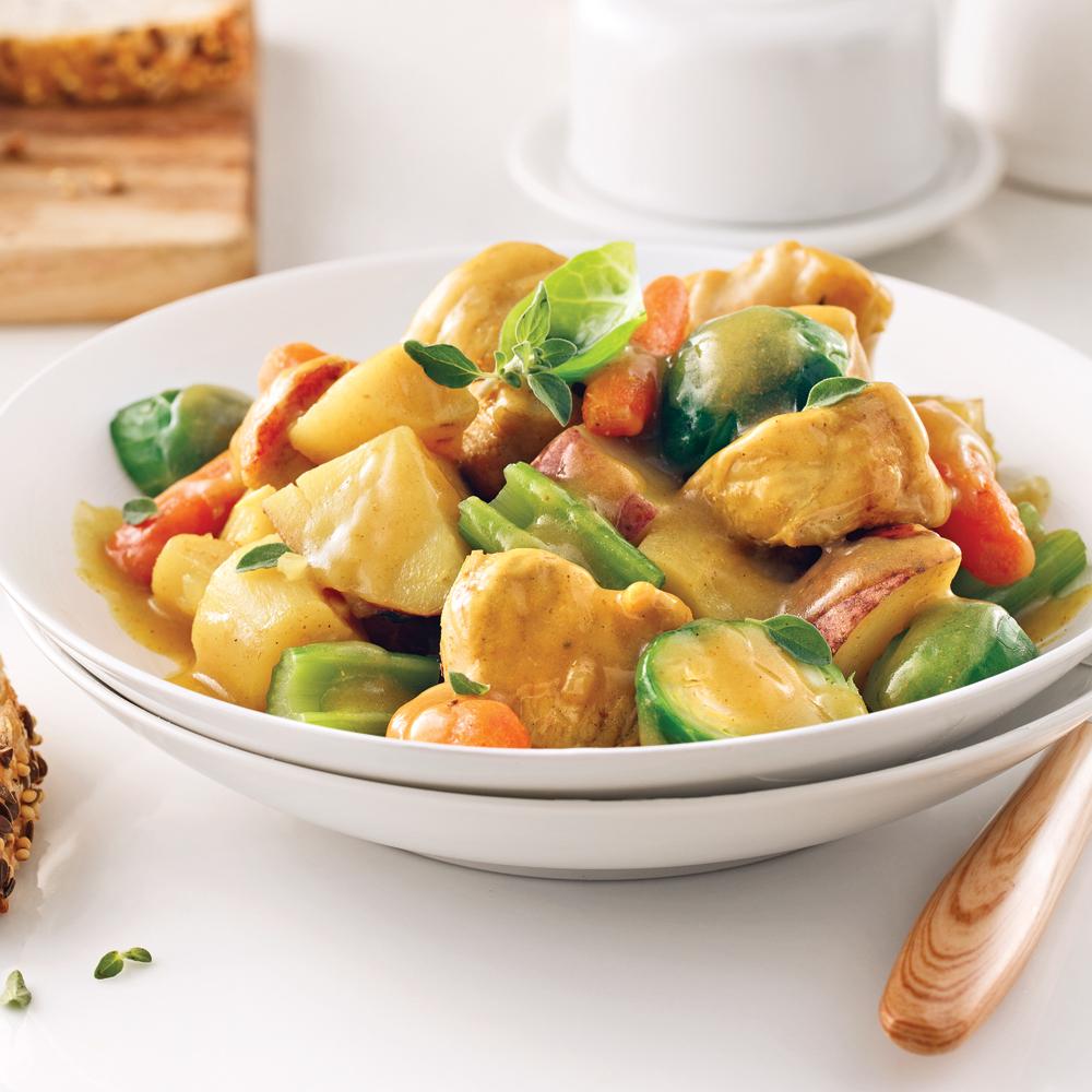 Ragoût de poulet aux légumes (recette pour Instant Pot)
