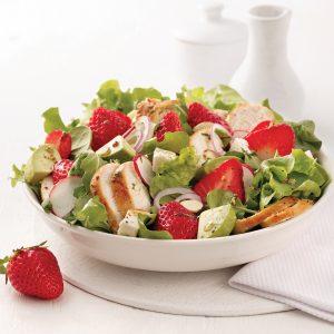 Salade fraîcheur au poulet