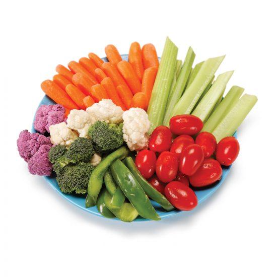 À volonté, les légumes?