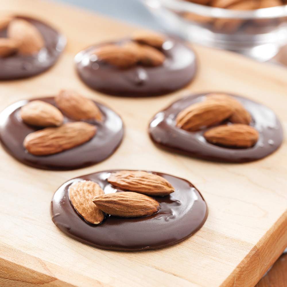 Délices croquants au chocolat noir et amandes