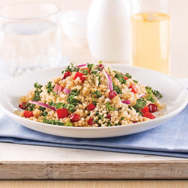 Salade tiède de quinoa à l'asiatique
