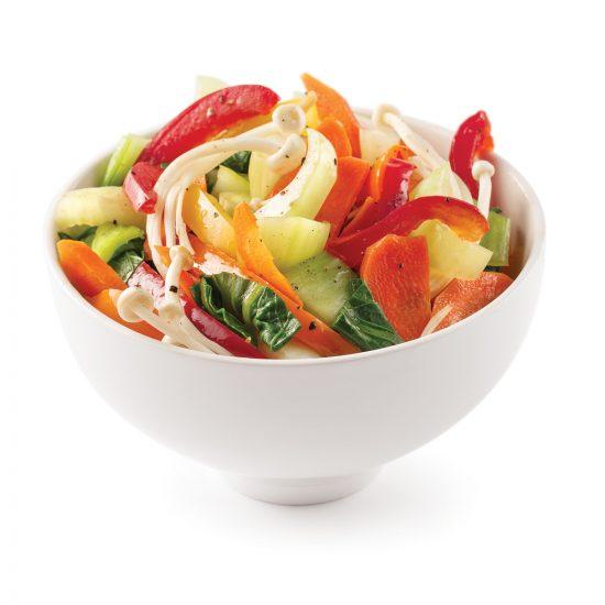 Légumes sautés au sésame