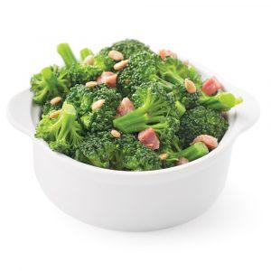 Brocoli à la pancetta et graines de tournesol