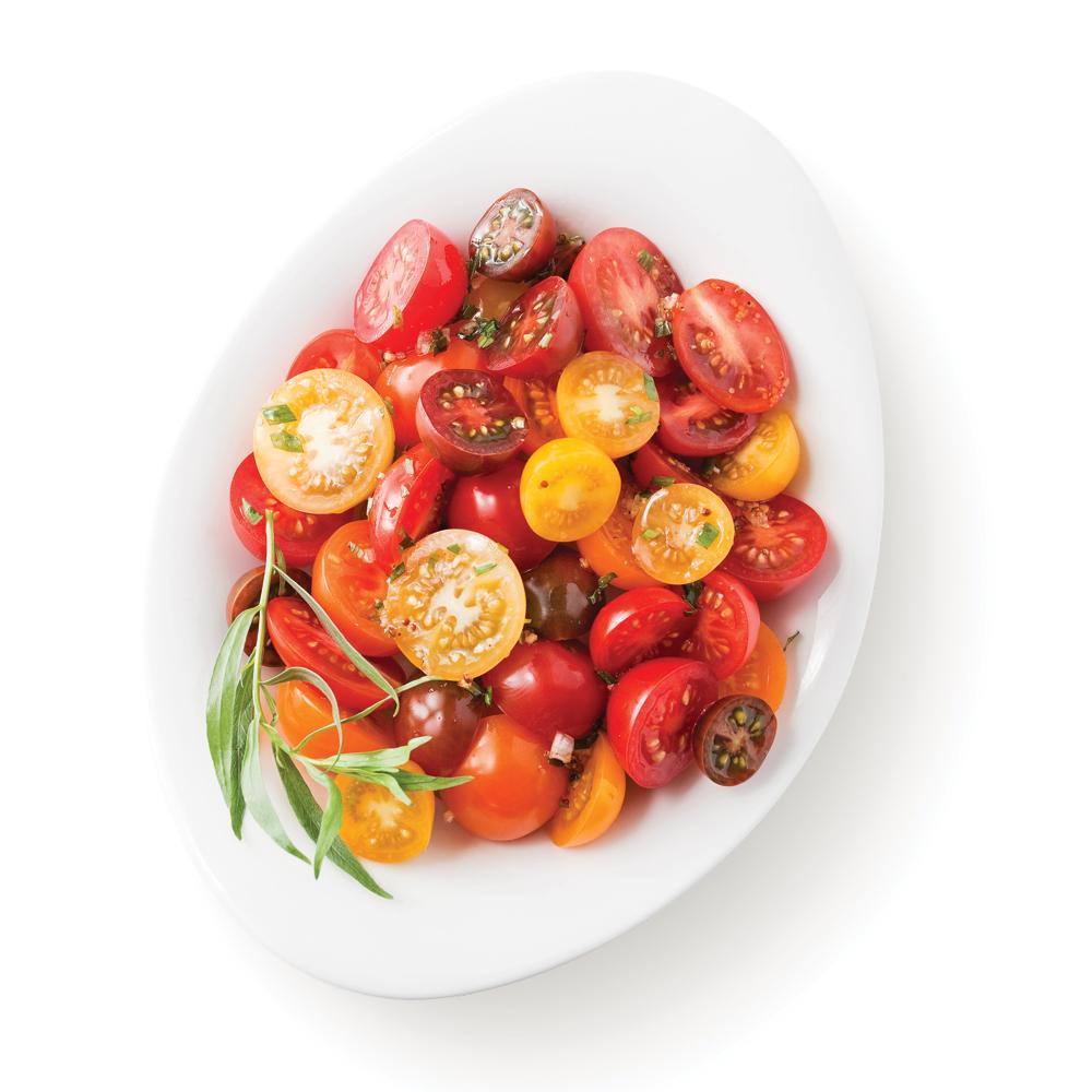 Salade de tomates à l'estragon
