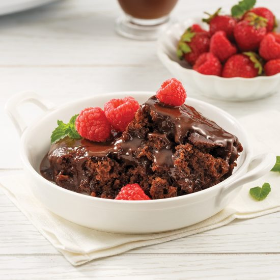 Gâteau-pouding au chocolat