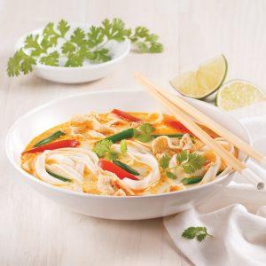 Soupe-repas à la thaïe