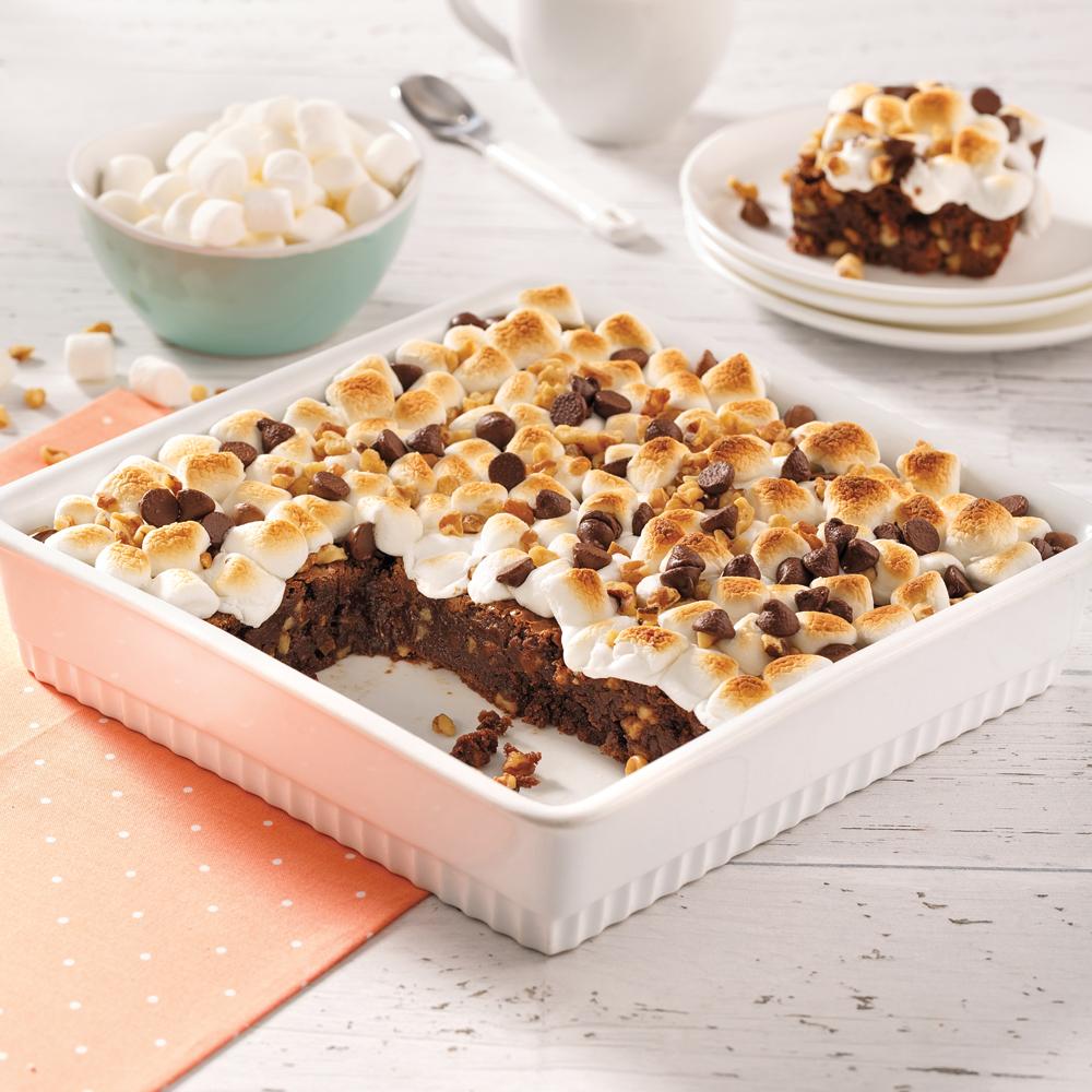 Brownies choco-rochers