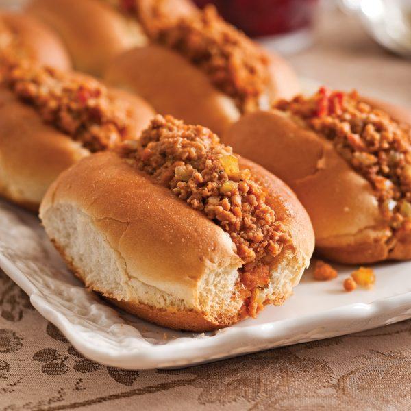 Petits pains gumbo à la viande