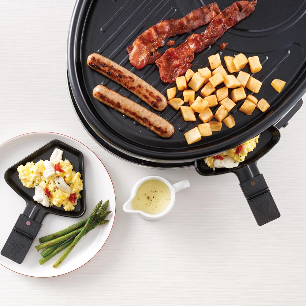 Raclette brunch gourmande