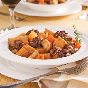 Mijoté de bœuf aux légumes