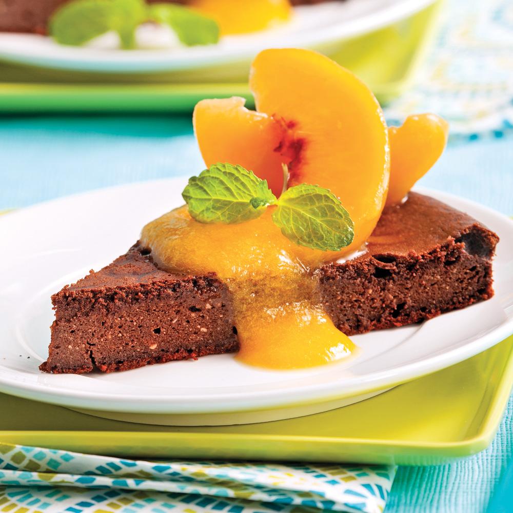 Gâteau sans farine au chocolat et ricotta