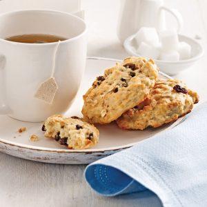 Biscuits avoine et raisins