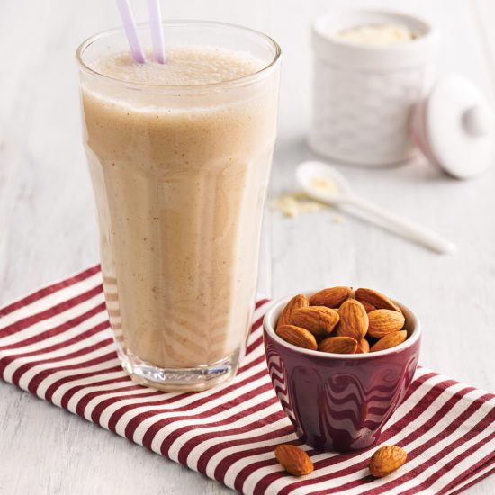 Smoothie bananes-amandes