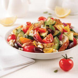 Salade de poulet à la grecque