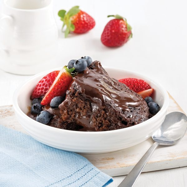 Gâteau-pouding au chocolat à la mijoteuse