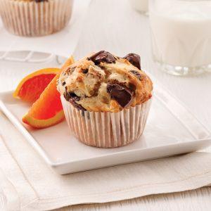 Muffins aux poires et chocolat noir