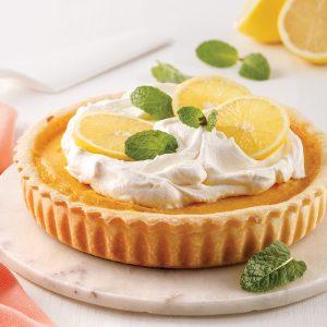 Tarte au citron sans sucre