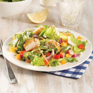 Salade de poulet croustillant