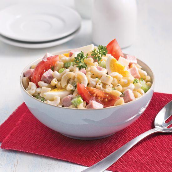 Salade de macaronis au jambon
